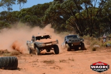 The infamous Kalgoorlie whoops always throw up spectacular racing action