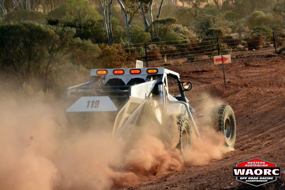 Robinson Strikes gold at the Kalgoorlie Desert Race ...